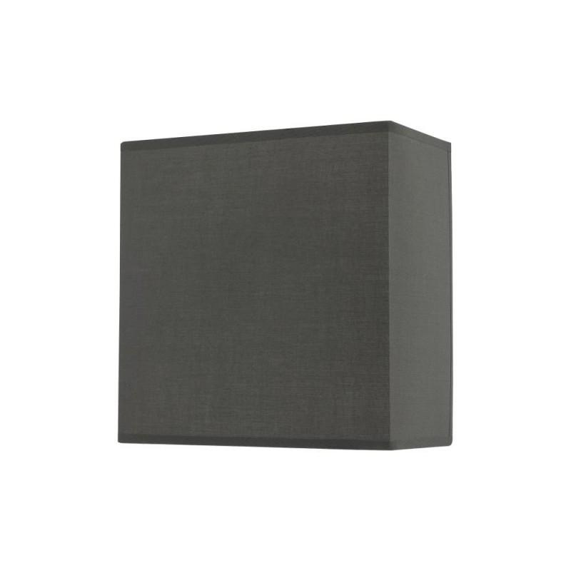 Wisebuys-URM0739 - Urmi - Dark Grey Faux Silk Shade Wall Lamp