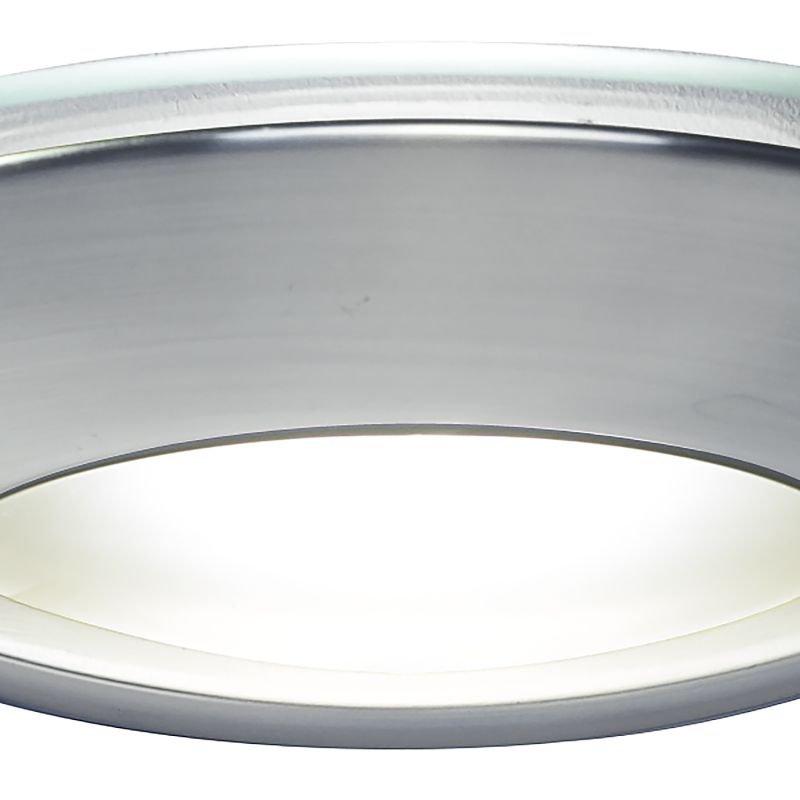 Dar-VIA0746 - Via - Satin Chrome with Opal Glass Wall Lamp