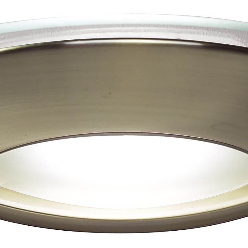 Dar-VIA0775 - Via - Antique Brass with Opal Glass Wall Lamp