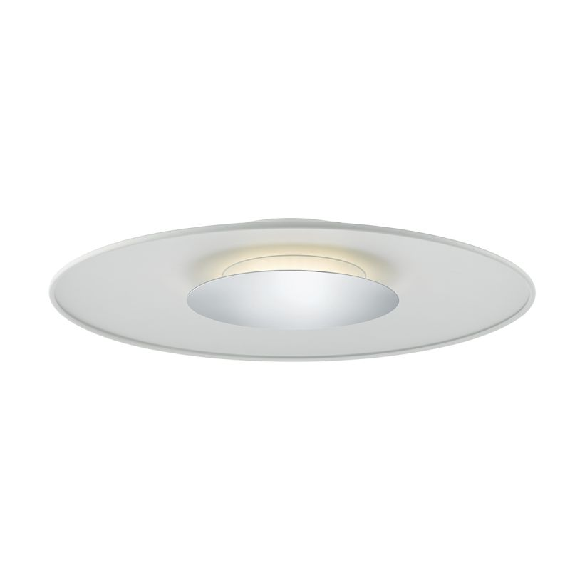Dar-WOR502 - Worcester - Big LED White & Polished Chrome Ceiling Lamp