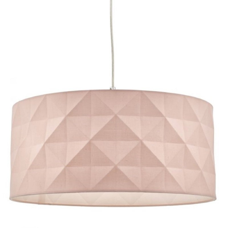 Wisebuys-AIS6503 - Aisha - Pink Cotton Shade for Hanging Pendant