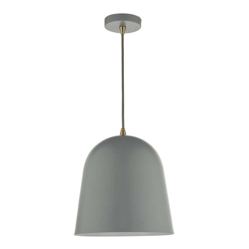Dar-BAJ0139 - Baja - Small Grey Metal Hanging Pendant