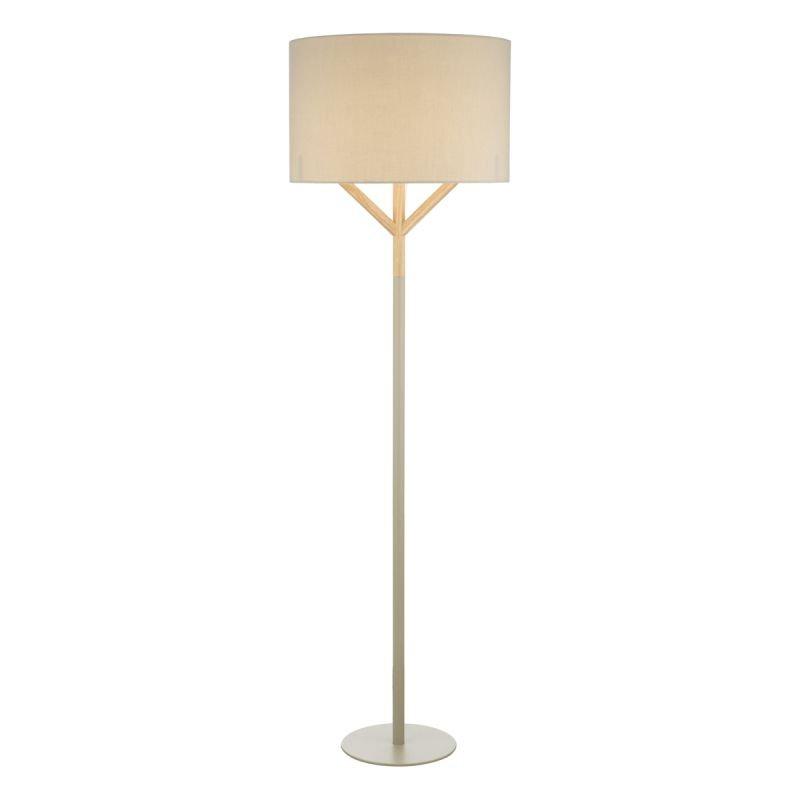 Dar-EAT4939 - Eatu - Grey & Wood Floor Lamp