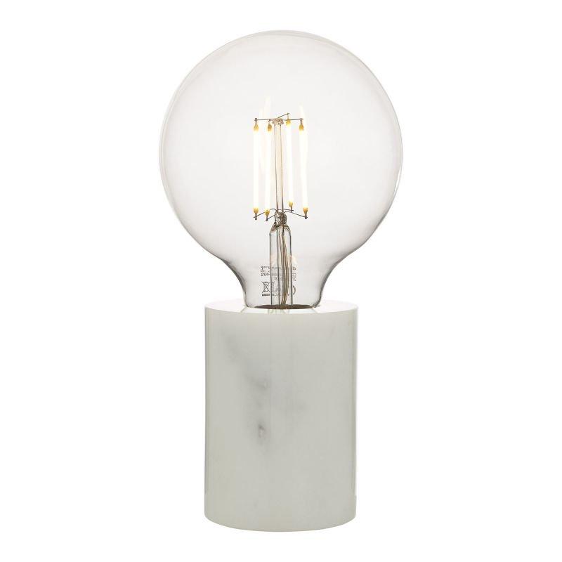 Dar-JAX412 - Jaxon - Marble & White Table Lamp