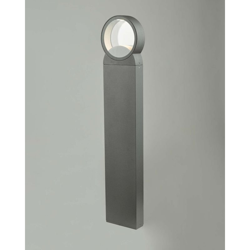 Dar-REO4539 - Reon - Outdoor LED Round Anthracite Post