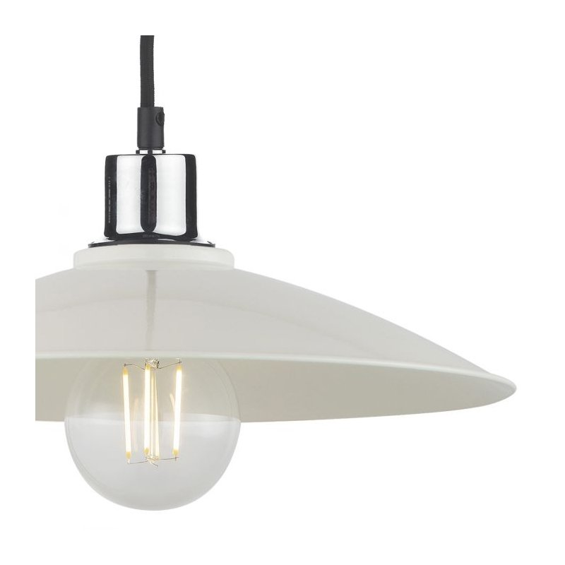Dar-YIF6515 - Yifat - Ivory Gloss Metal Shade for Hanging Pendant