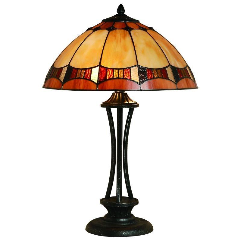 Cork Lighting-TL4003/16 - Lead - Tiffany Glass 16