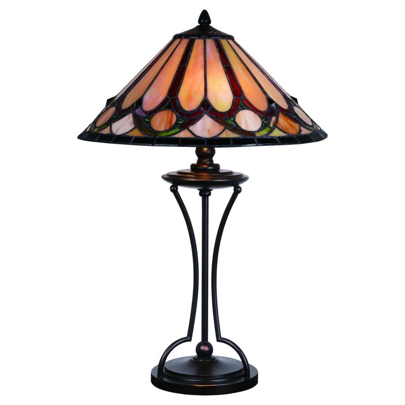 Cork Lighting-TL4501/16 - Lead - Tiffany Glass 16