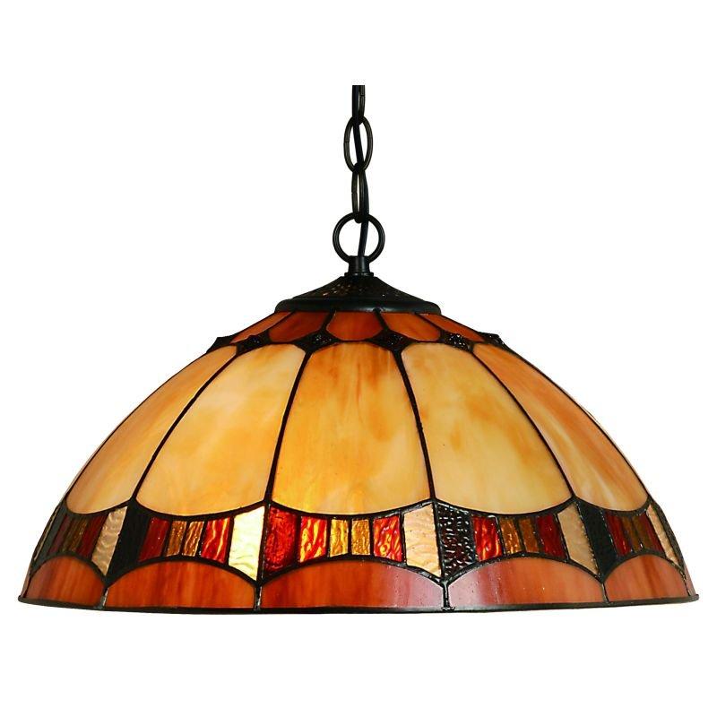 Cork Lighting-TS4003/16 - Lead - Tiffany Glass 16
