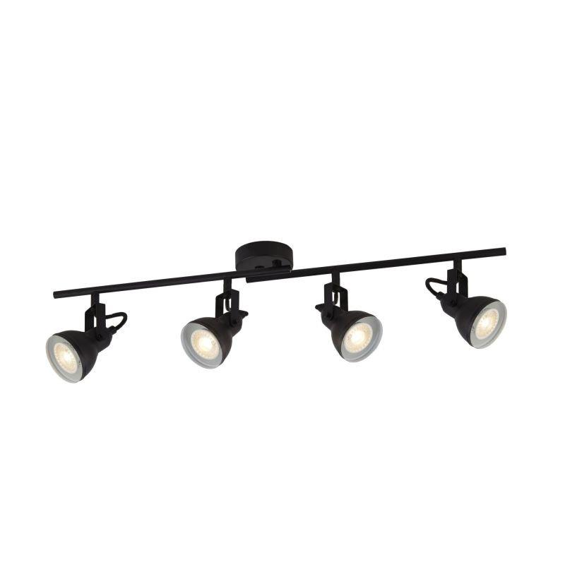 Searchlight-1544BK - Focus - Matt Black 4 Light Spotlights