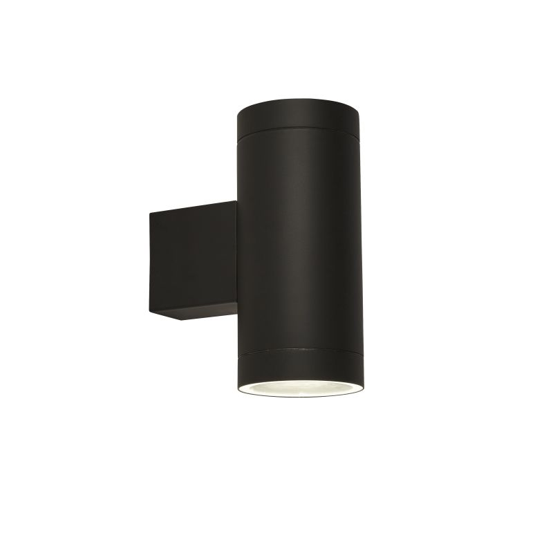 Searchlight-19082BK - Outdoor - Black Up&Down Wall Lamp