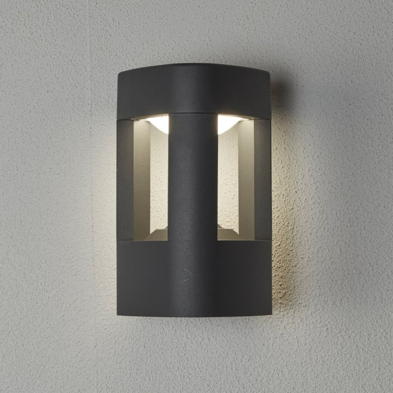 Searchlight-2005GY - Michigan - Outdoor LED Dark Grey Wall Lamp