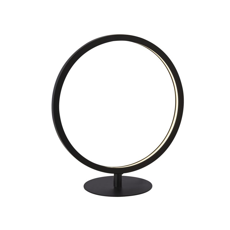 Searchlight-25771-1BK - Cirque - LED Matt Black Table Lamp