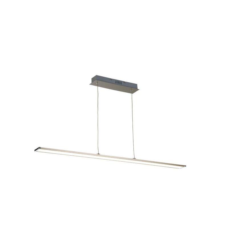 Searchlight-4761SN-LED - Beam - LED Satin Nickel Linear Profile