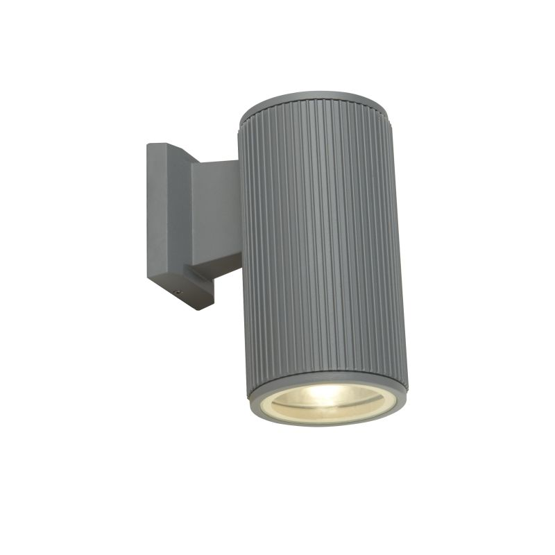 Searchlight-6871GY - Outdoor - Grey Downlight Wall Lamp