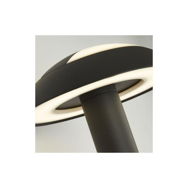 Searchlight-7263GY - Mushroom - Outdoor LED Dark Grey & White Wall Lamp 4000K