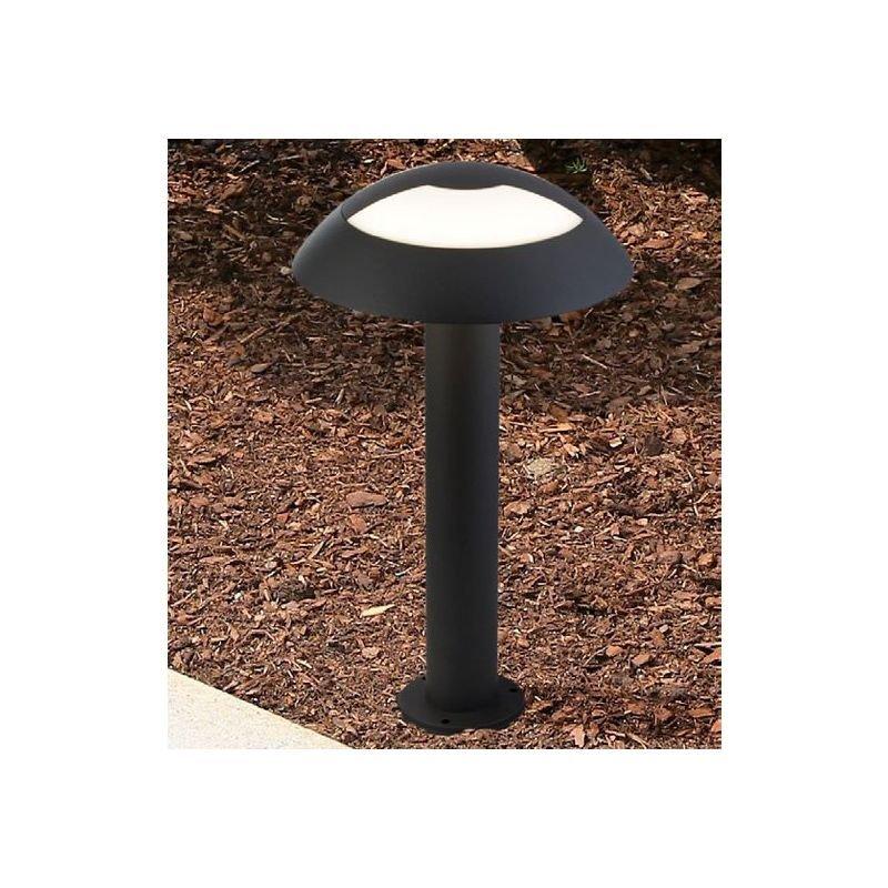Searchlight-7264-450 - Mushroom - LED Dark Grey & White Small Post 4000K