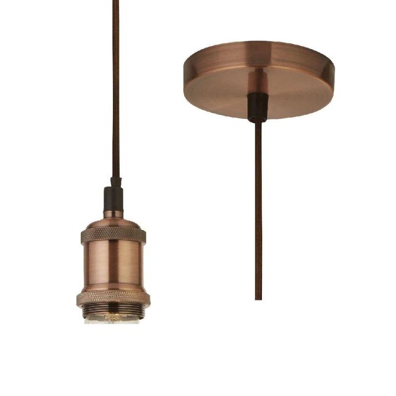 Searchlight-7461CU - Suspension - Antique Copper Suspension E27