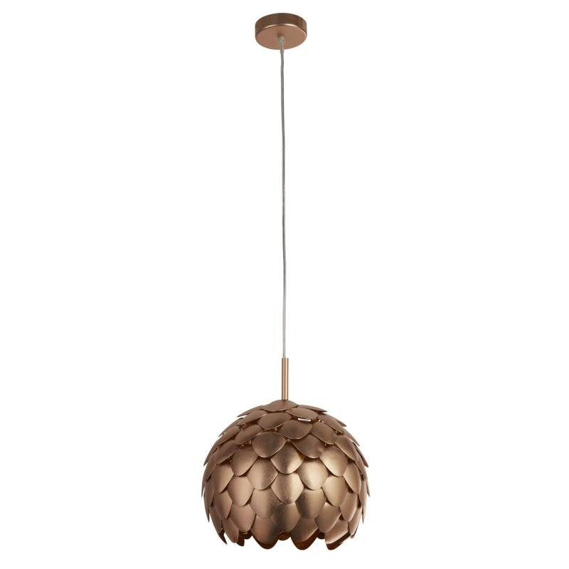 Searchlight-8190CU - Artichoke - Metallic Copper 1 Light Hanging Pendant