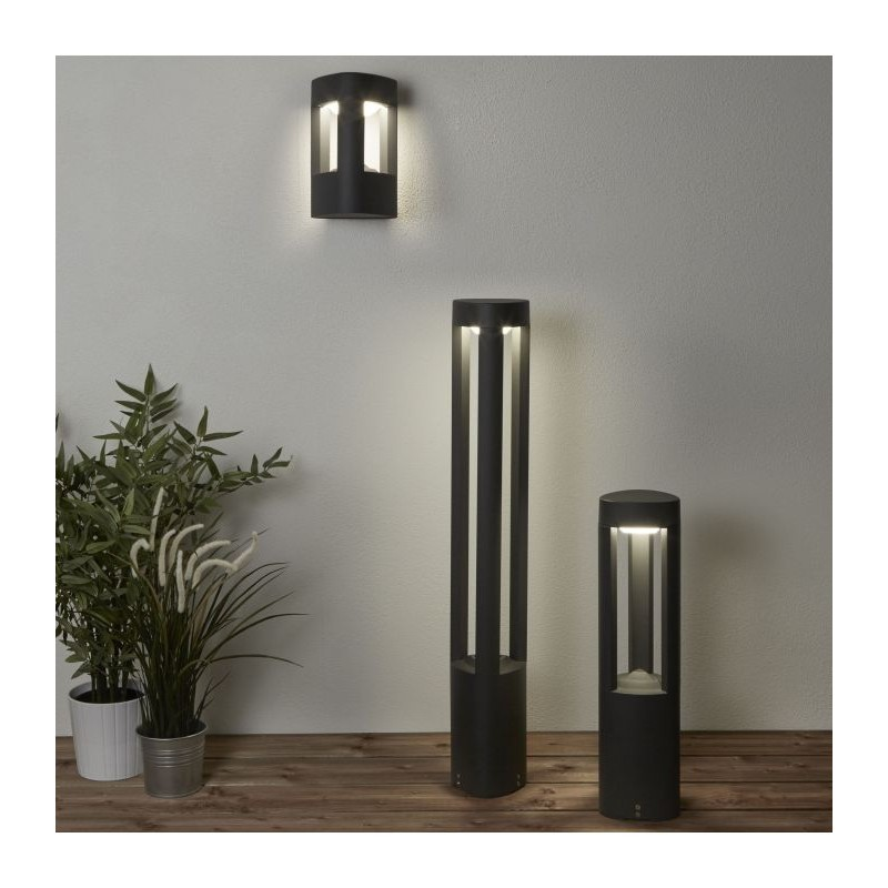 Searchlight-1005-500GY - Michigan - Outdoor LED Dark Grey Small Bollard