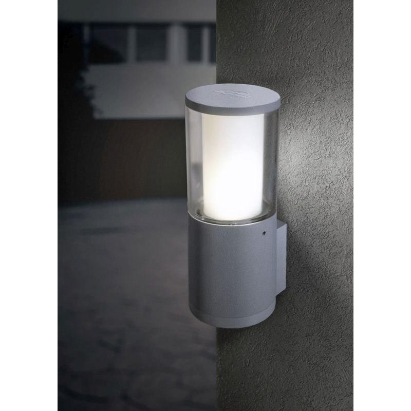 Fumagalli-FMDR1570U1LLX - Carlo - Clear & White with Grey Wall Lamp