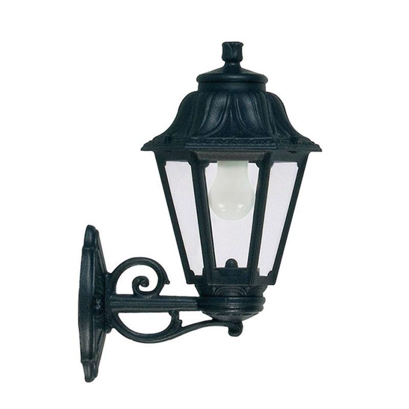 Fumagalli-Bisso-Anna - Bisso Anna - Black Hexagonal Lantern Wall Lamp