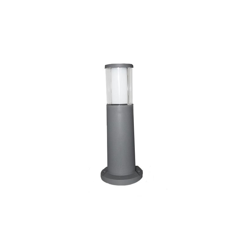 Fumagalli-FMDR1574U1LLX - Carlo - Small Clear & White with Grey Bollard