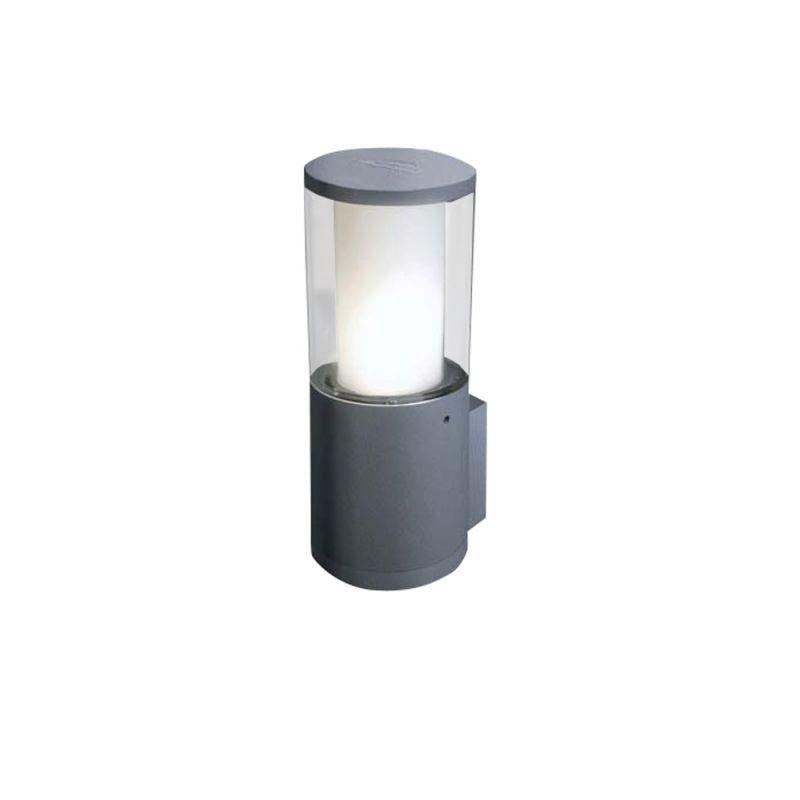 Fumagalli-FMDR1570U1LLX - Carlo - Clear & White with Grey Wall Lamp