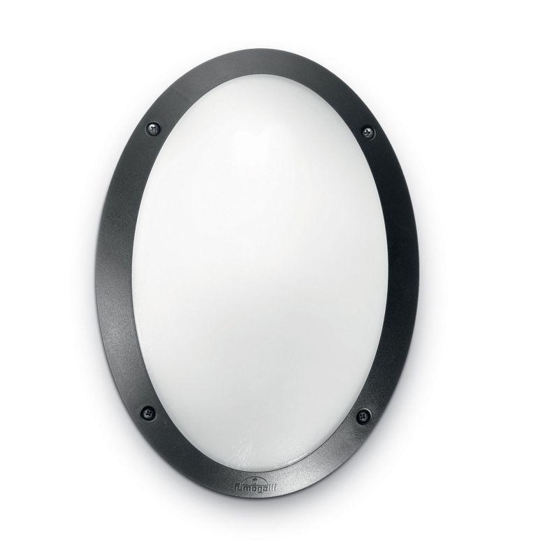 Fumagalli-FM1D3000E27AR - Danzi - Opal with Black Oval Bulkhead