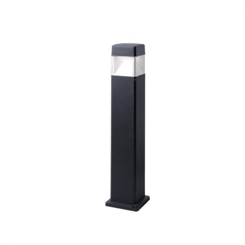 Fumagalli-FMDS2564D1LAX - Elisa - Big Black and Clear Bollard