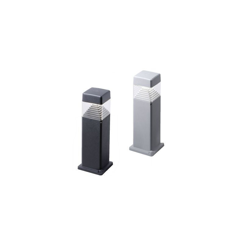 Fumagalli-FMDS1563D1LAX - Ester -  Small Black and Clear Bollard