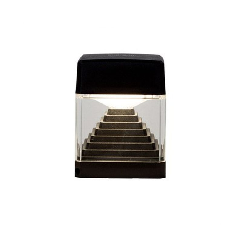 Fumagalli-FMDS1560C1LAX - Ester - Black and Clear Wall Lamp