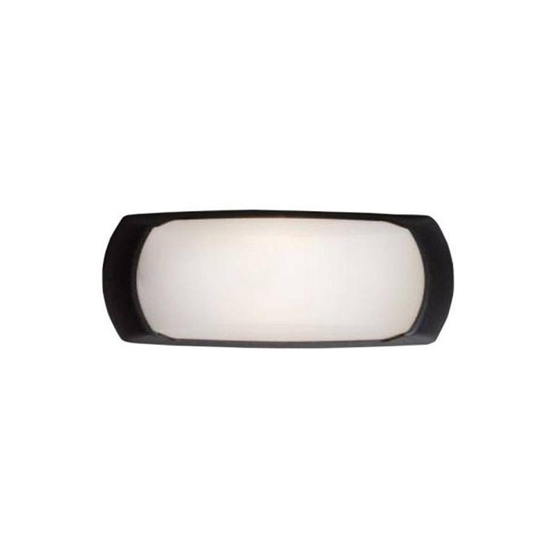 Fumagalli-FM2A1E27AY - Francy - Opal White with Black Bulkhead Light