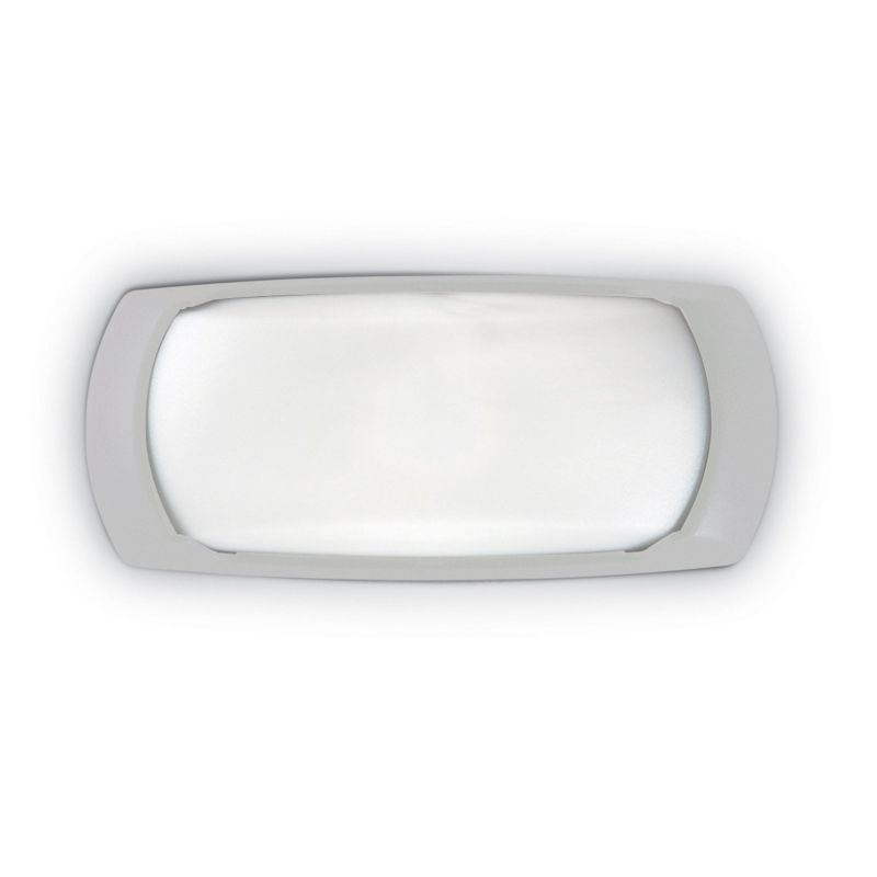 Fumagalli-FM2A1E27LY - Francy - Opal White with Grey Bulkhead Light
