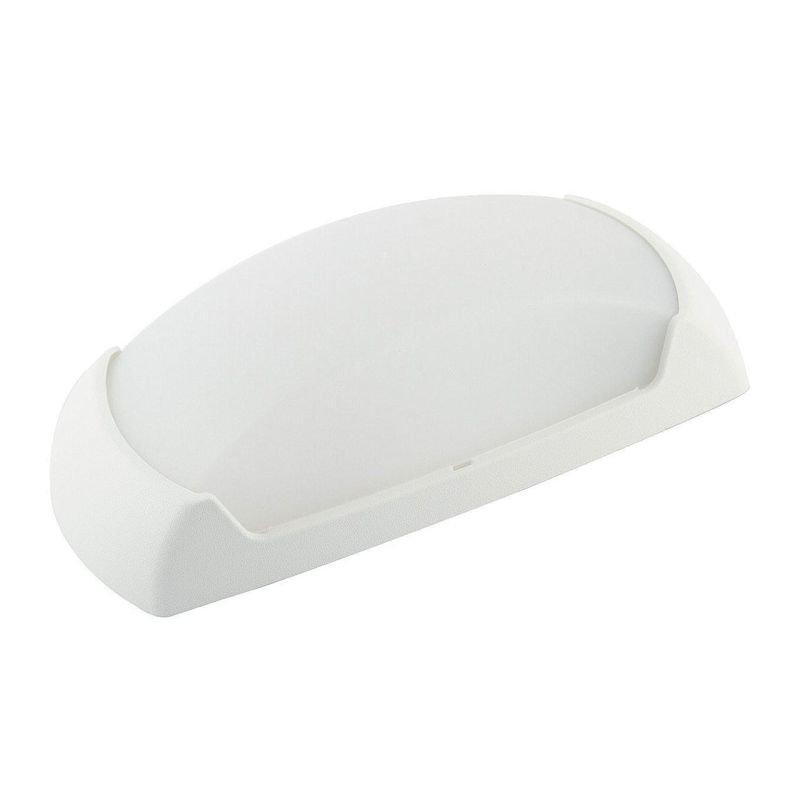 Fumagalli-FM2A1E27WY - Francy - Opal White Shade with White Bulkhead Light