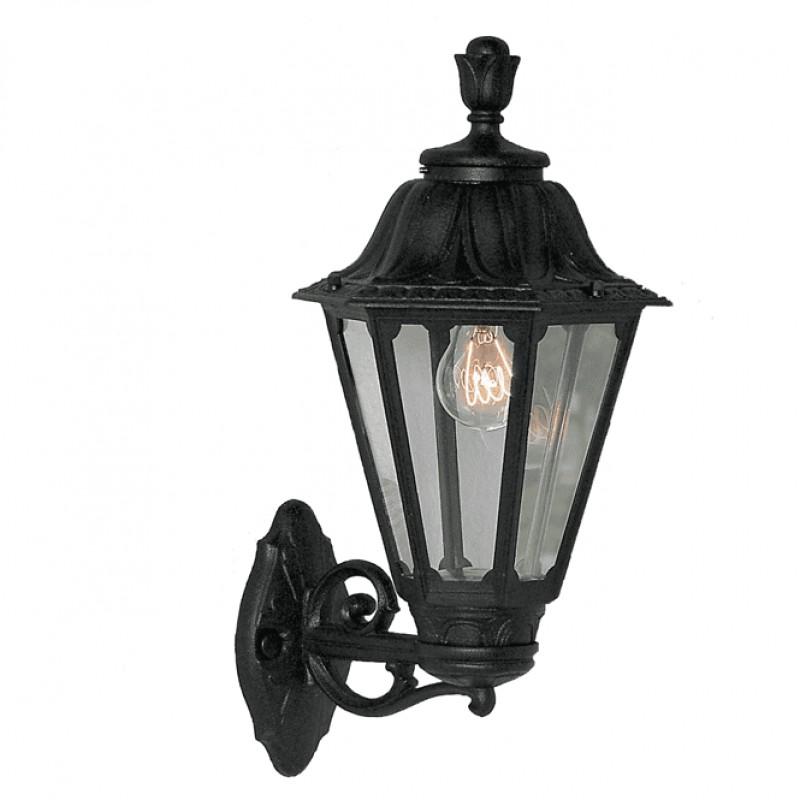 Fumagalli-Bisso Rut - Bisso Rut - Black Hexagonal Lantern Wall Lamp