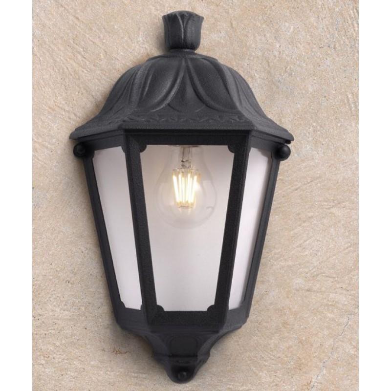 Fumagalli-Iesse - Iesse - Black Half Lantern Wall Lamp