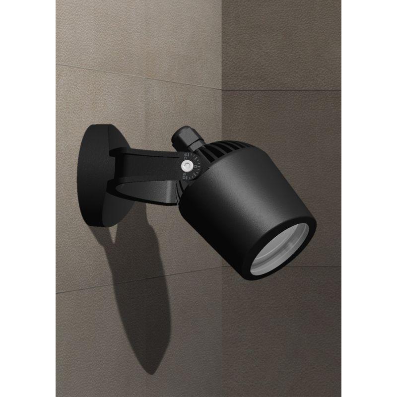 Fumagalli-FM1M1000U1LA - Mini Tommy - Black Wall Lamp