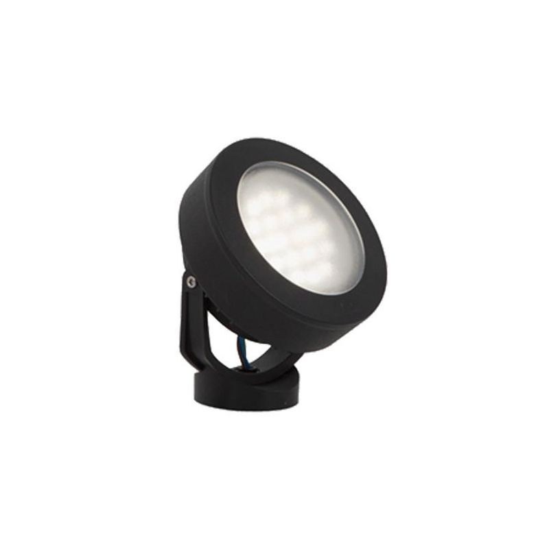 Fumagalli-FM2M1000C1LA - Tommy - 7W Black Round Wall Lamp
