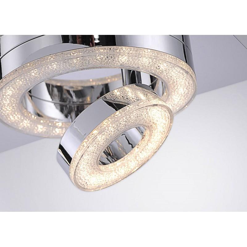 LeuchtenDirect-14521-17 - Tim - Modern LED Chrome Double Spotlight