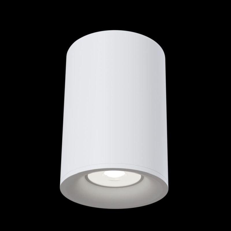 Maytoni-C012CL-01W - Alfa - Surface-Mounted White Cylindrical Spotlight