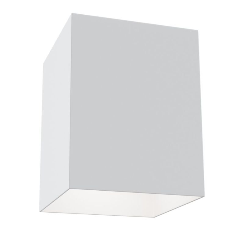 Maytoni-C015CL-01W - Alfa - Surface-Mounted White Rectangular Spotlight