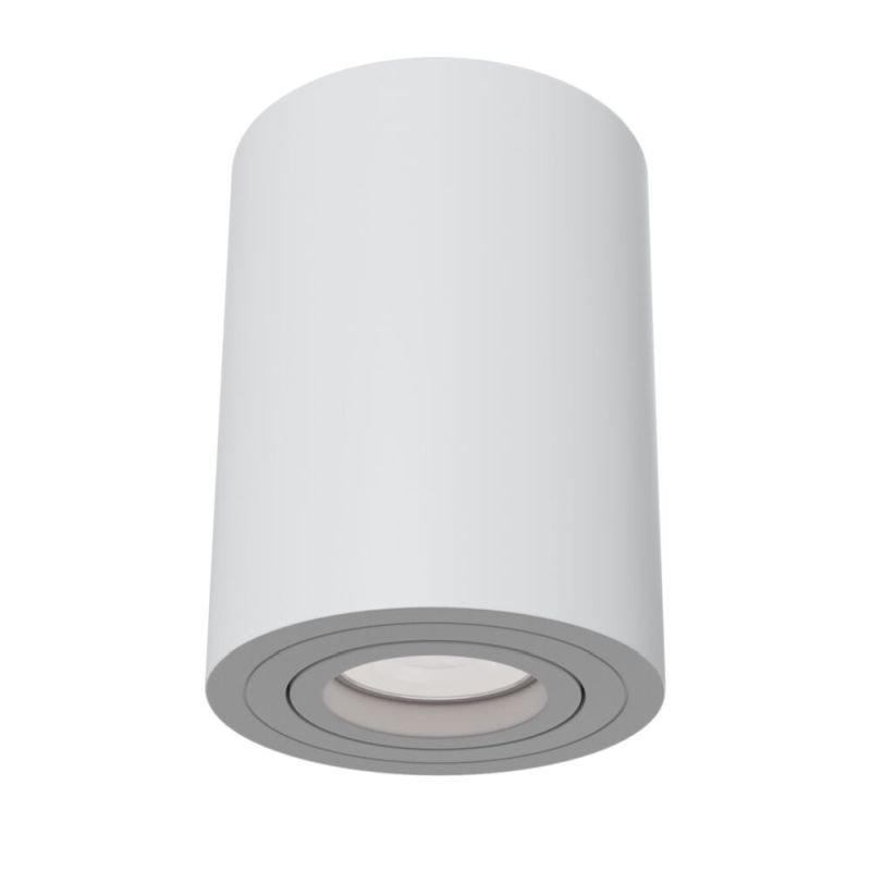 Maytoni-C016CL-01W - Alfa - Surface-Mounted White Cylindrical Spotlight