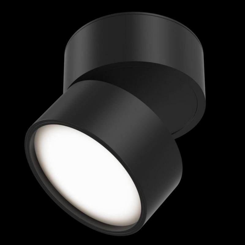 Maytoni-C024CL-L12B3K - Onda - Warm White LED Adjustable Black Spotlight