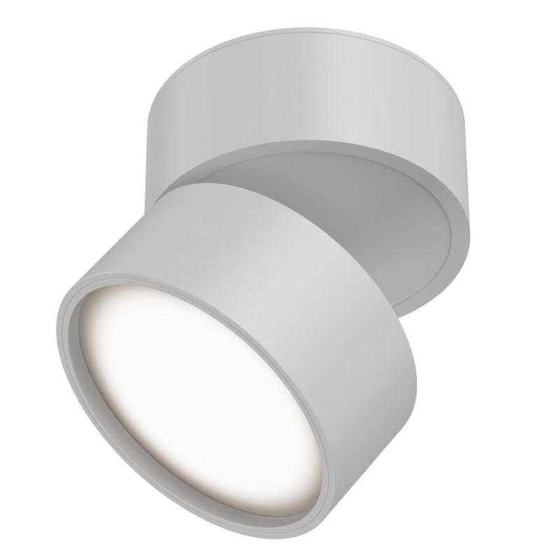 Maytoni-C024CL-L12W3K - Onda - Warm White LED Adjustable White Spotlight