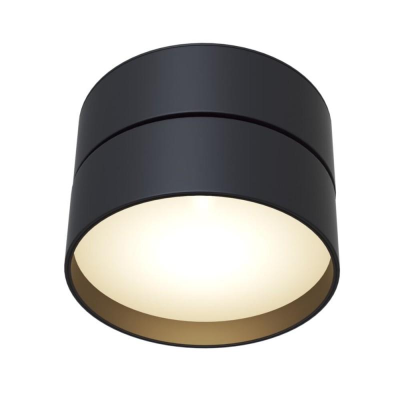 Maytoni-C024CL-L18B - Onda - Warm White LED Adjustable Black Spotlight