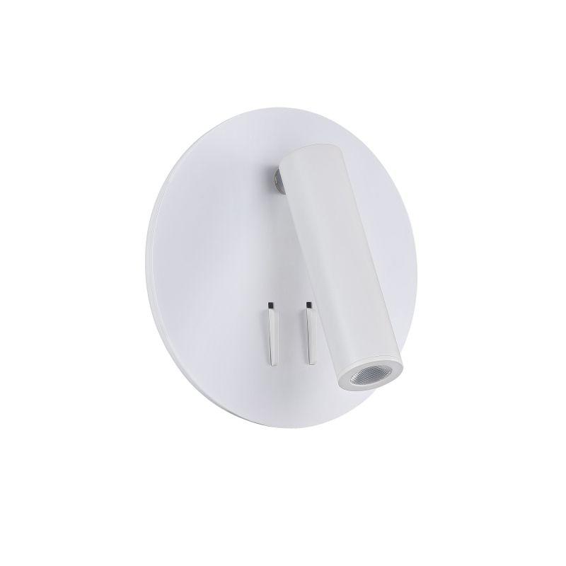 Maytoni-C176-WL-01-6W-W - Ios 176 - White Metal LED Wall Lamp