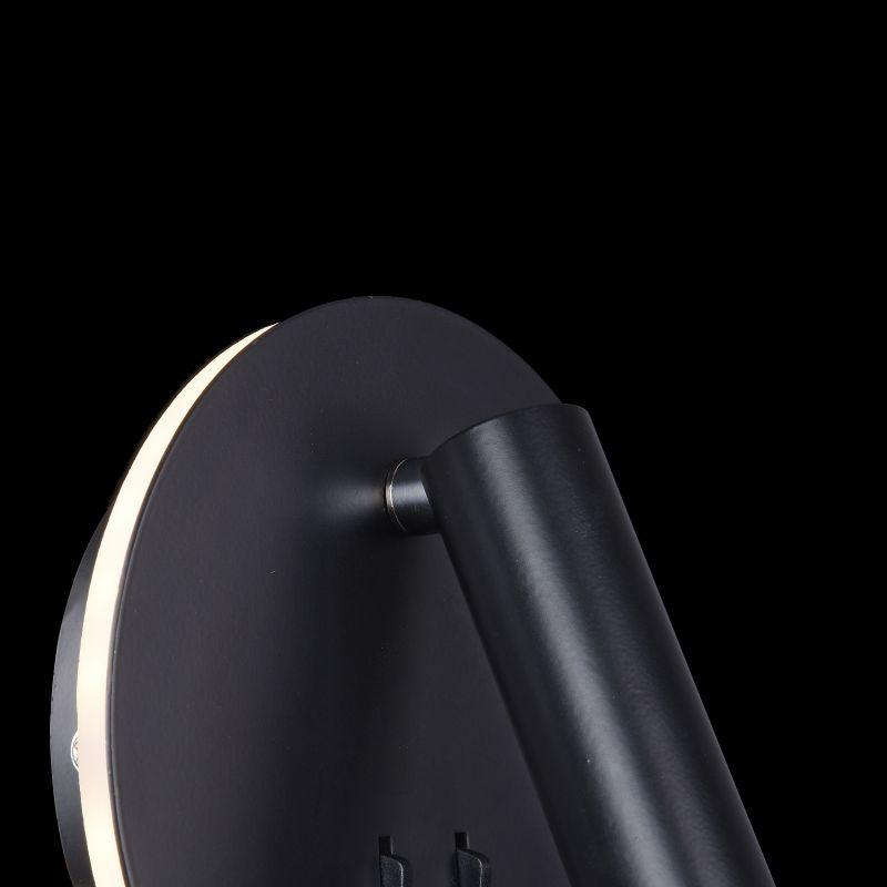 Maytoni-C176-WL-01-6W-B - Ios 176 - Black Metal LED Wall Lamp