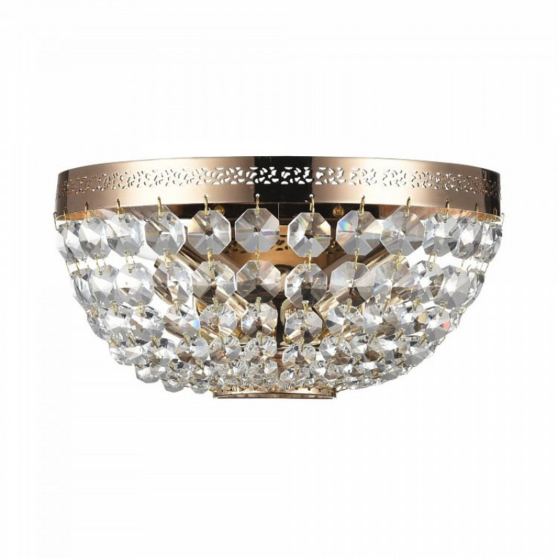 Maytoni-DIA700-WL-02-G - Ottilia - Crystal Wall Lamp -Gold