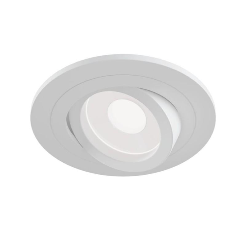 Maytoni-DL023-2-01W - Atom - Adjustable White Recessed Downlight Ø 9.2 cm